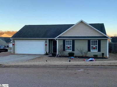 Duncan Single Family Home For Sale: 823 Ethan Bishop