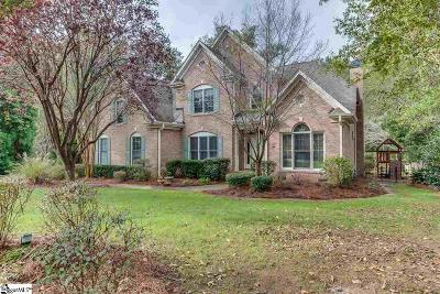 Simpsonville Single Family Home For Sale: 3 Walnut Trace