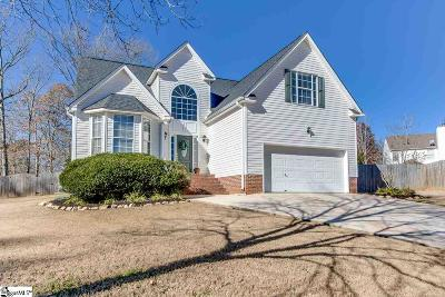 Greenville County Single Family Home Contingency Contract: 14 Caney