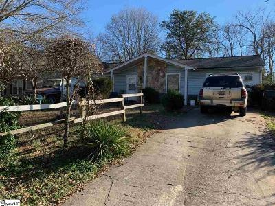 Taylors Single Family Home For Sale: 118 Osmond