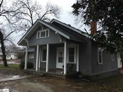 Laurens Single Family Home For Sale: 128 Marion