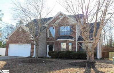 Greenville County Single Family Home For Sale: 313 Oakboro