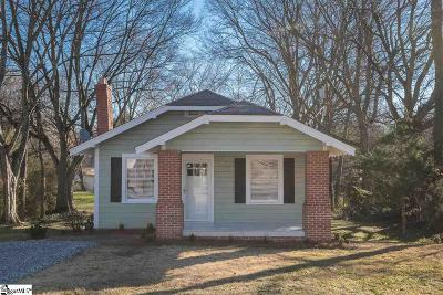 Greenville Single Family Home Contingency Contract: 4 Maplecroft