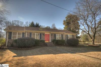 Greenville County Single Family Home Contingency Contract: 2 Ladbroke