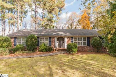 Greenville Single Family Home For Sale: 249 Providence Square