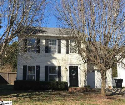 Simpsonville Single Family Home Contingency Contract: 312 S Sandy Brook