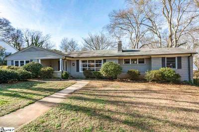 Augusta Road Single Family Home For Sale: 8 Tyler