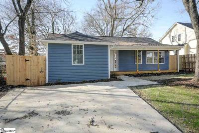 Greenville Single Family Home For Sale: 319 Sycamore