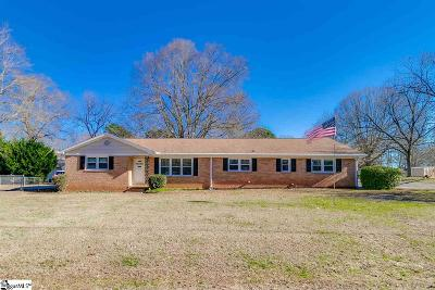 Simpsonville Single Family Home Contingency Contract: 208 Douglas