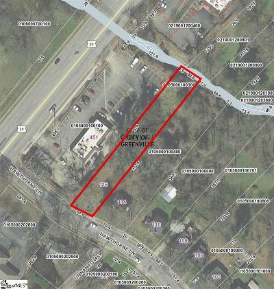 Greenville Residential Lots & Land For Sale: 116 Hawthorne