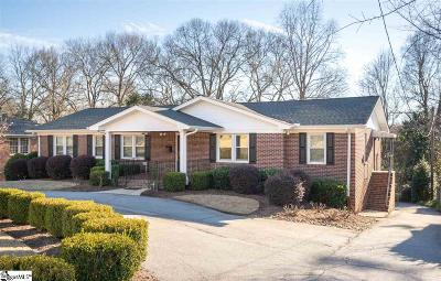 Greenville Single Family Home For Sale: 126 Sunset