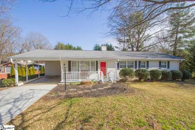Easley Single Family Home Contingency Contract: 115 Northway