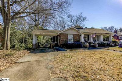 Greenville Single Family Home Contingency Contract: 1402 E North