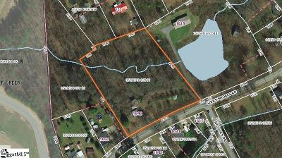 Greer Residential Lots & Land For Sale: 1649 Gibb Shoals