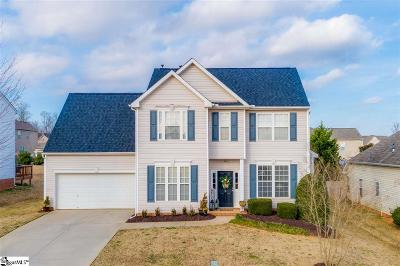Simpsonville Single Family Home For Sale: 8 Semmelrock