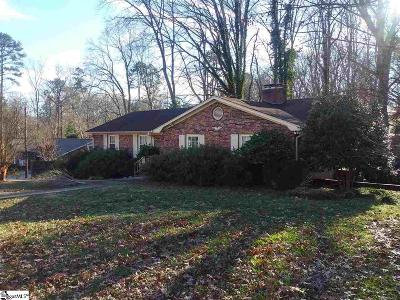 Taylors Single Family Home For Sale: 103 Old Mill