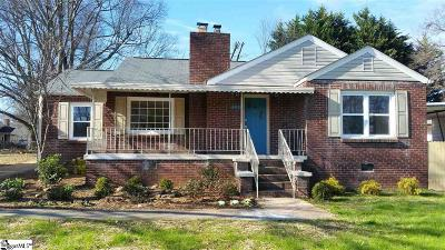 Greenville Single Family Home For Sale: 407 Perry