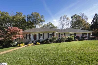 Greenville Single Family Home For Sale: 316 Chapman