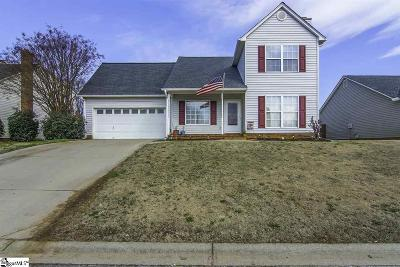 Greer Single Family Home For Sale: 106 Fawnbrook