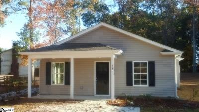 Spartanburg Single Family Home For Sale: 190 Stonecreek