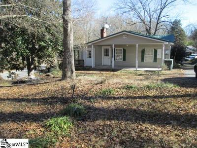 Piedmont Single Family Home For Sale: 101 Bagwell