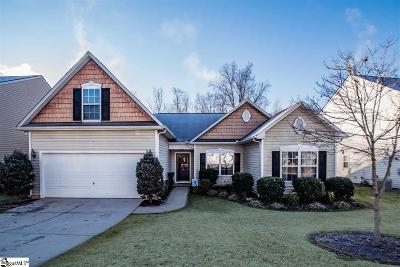Simpsonville Single Family Home For Sale: 616 Timber Walk