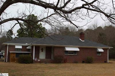 Laurens Single Family Home For Sale: 341 Lee Carey