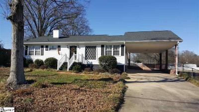 Simpsonville Single Family Home Contingency Contract: 103 Morgan