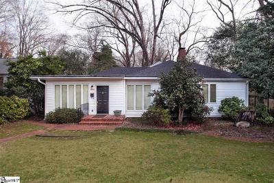 Spartanburg Single Family Home For Sale: 1070 Otis