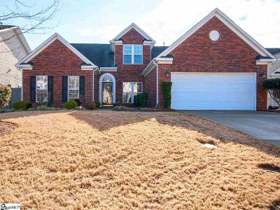 Simpsonville Single Family Home For Sale: 9 Carter Run