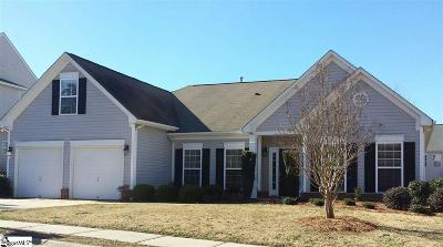 Simpsonville Single Family Home For Sale: 153 Heritage Point