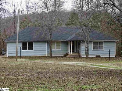 Pelzer Single Family Home For Sale: 566 Slatton Shoals