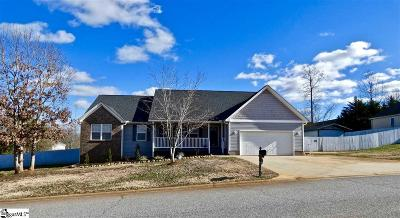 Greer Single Family Home For Sale: 144 Matalin