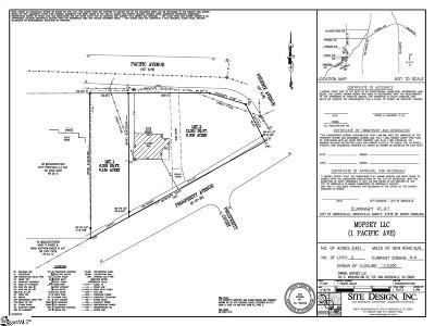 Greenville Residential Lots & Land For Sale: 3 Pacific