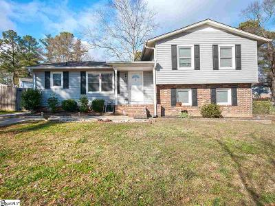 Simpsonville Single Family Home For Sale: 308 Capewood