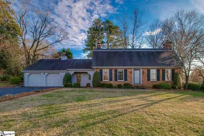 Greer Single Family Home For Sale: 255 Sheffield