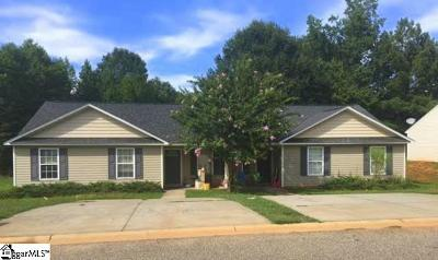 Laurens Multi Family Home For Sale: 213 Amethyst