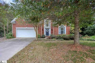 Simpsonville Single Family Home Contingency Contract: 10 Nittany