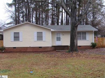 Central SC Single Family Home For Sale: $116,500
