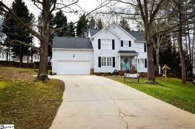 Simpsonville Single Family Home For Sale: 8 Windchime