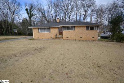 Taylors Single Family Home For Sale: 25 Forestdale
