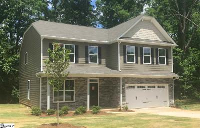 Simpsonville Single Family Home For Sale: 205 Sunshower #lot 11