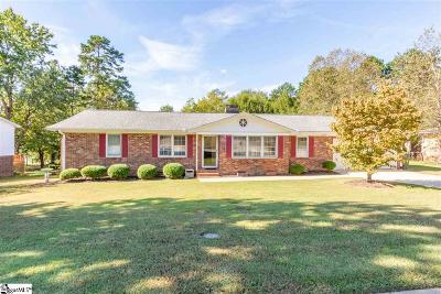 Simpsonville Single Family Home For Sale: 112 Delmar