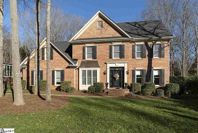 Simpsonville Single Family Home For Sale: 103 Maple Brook