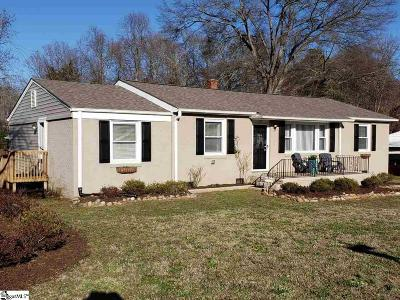 Mauldin Single Family Home For Sale: 201 Fairfield