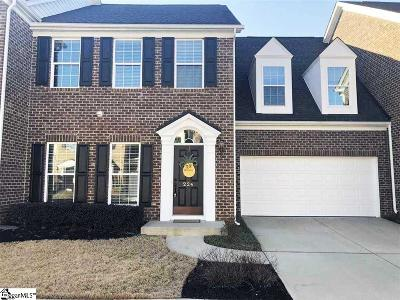 Simpsonville Condo/Townhouse For Sale: 224 Bickleigh
