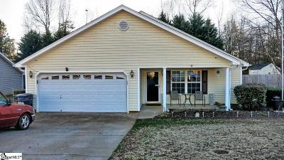 Greenville County Single Family Home For Sale: 35 Laws