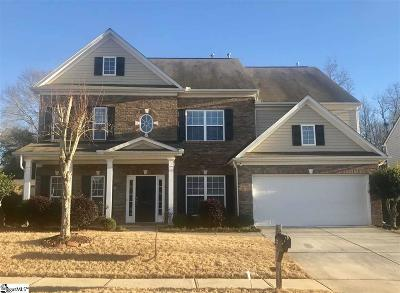 Simpsonville Single Family Home For Sale: 127 Jordan Crest