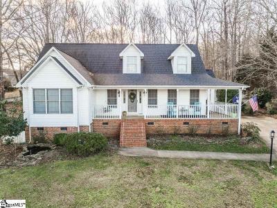 Greer Single Family Home For Sale: 103 Lake Robinson