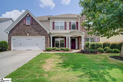 Simpsonville Single Family Home For Sale: 130 Morning Tide